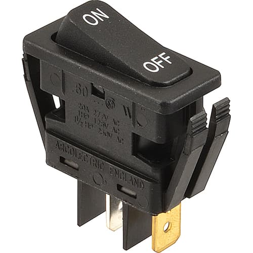 FMP 145-1098 Rocker Switch SPST  On/Off