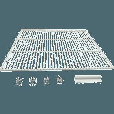 FMP 148-1144 Refrigeration Shelf Includes 4 pilaster clips