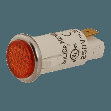 FMP 149-1026 Flat Lens Indicator Light Amber lens