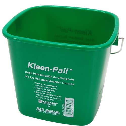 FMP 150-6012 Kleen-Pail Soap Solution Bucket by San Jamar 3 qt