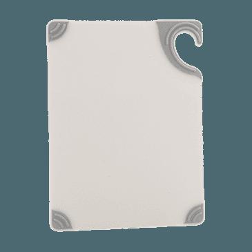 """FMP 150-6071 Saf-T-Grip Cutting Board by San Jamar 9"""" x 12"""" white"""