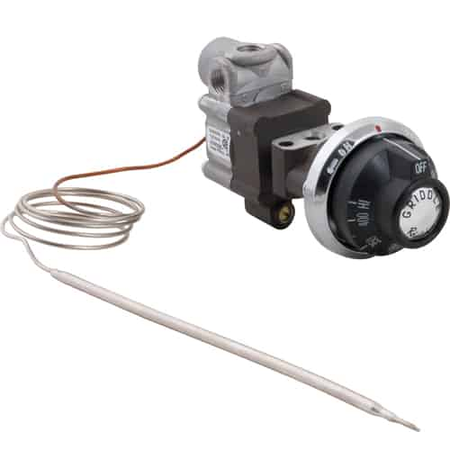 "FMP 152-1000 BJWA Commercial Griddle Thermostat Kit 150* to 400*F with 36"" long capillary"