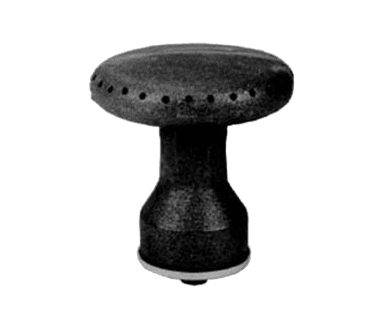 "FMP 156-1011 4"" Mushroom Burner Assembly"