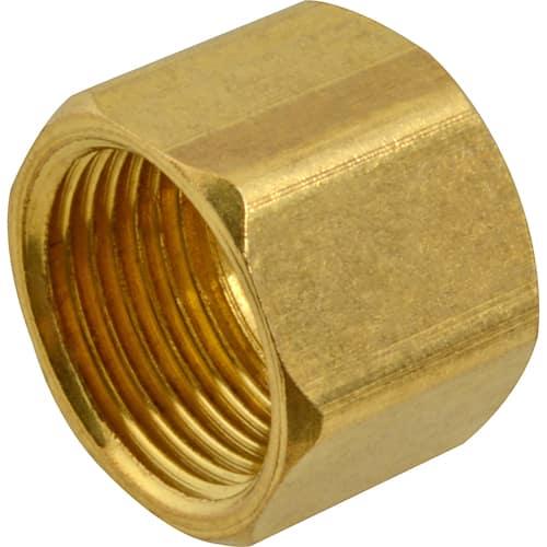 """FMP 158-1055 Brass Nut 3/8"""" OD tubing"""