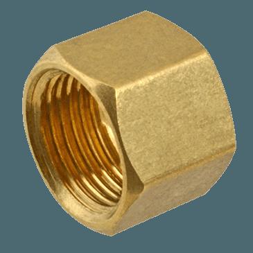 """FMP 158-1056 Brass Nut 5/16"""" OD tubing"""