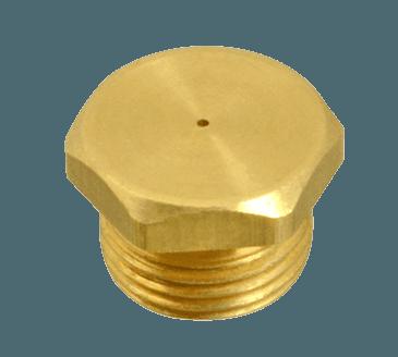 FMP 158-1130 #72 Hex Spud Burner Orifice 7/16-27 thread