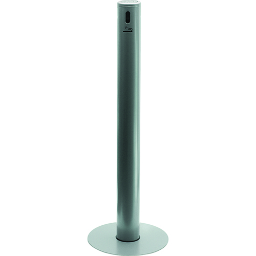 FMP 159-1143 Smoke Stand Receptacle by Smokers' Outpost Silver