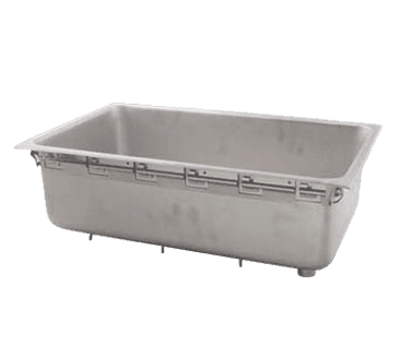 FMP 160-1288 Well Pan with Drain Top mount