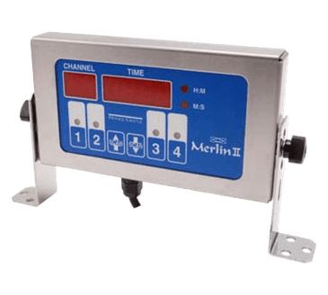 FMP 171-1184 Merlin II 4-Channel Single-Function Timer by Prince Castle 1 second to 18 hour countdown