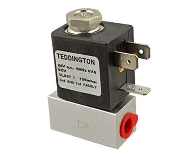 """FMP 175-1207 Solenoid Valve 1/8"""" NPT inlet and outlet"""