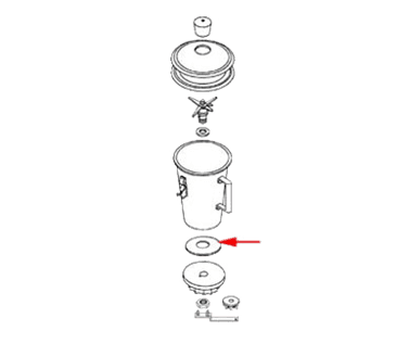 FMP 176-1132 Rubber Gasket