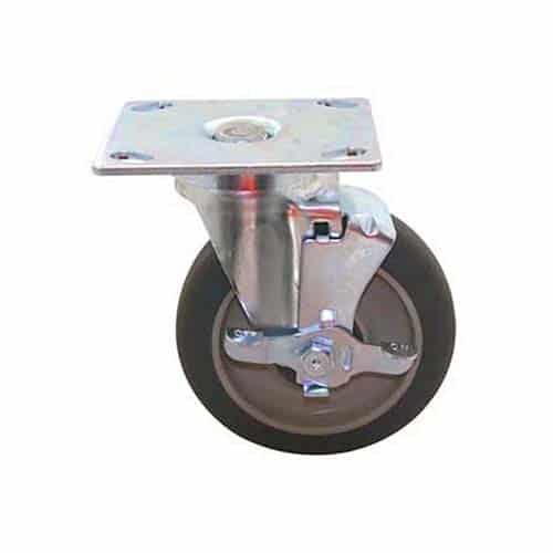 FMP 180-1018 Swivel Plate Caster with Brake