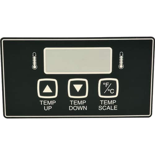 FMP 183-1322 Temperature Control Label