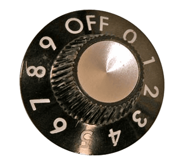 """FMP 189-1106 Infinite Control Dial Flat down in """"Off"""" position"""