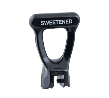 """FMP 190-1291 Faucet Handle Imprinted with """"Sweetened"""" and """"Unsweetened"""""""