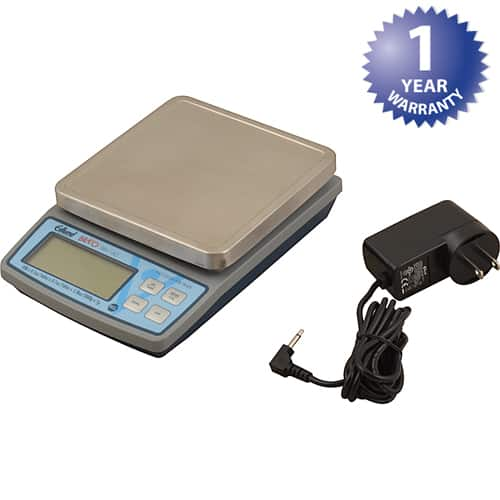 FMP 198-1220 Bravo! Digital Scale by Edlund 10 lb capacity in 0.1 oz increments