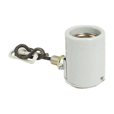 FMP 211-1071 One-Piece Porcelain Light Socket