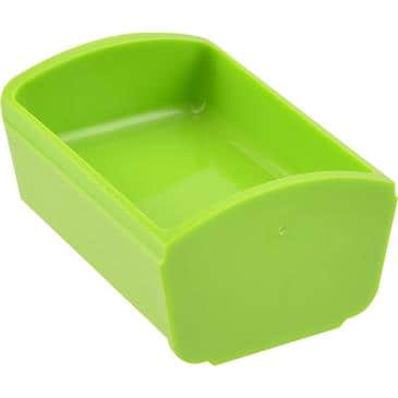 FMP 217-1304 Portion Tray 1 fl oz  green
