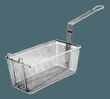 "FMP 225-1000 Standard Fryer Basket 11"" L x 5-5/8"" W x 4-1/8"" HFront hook"