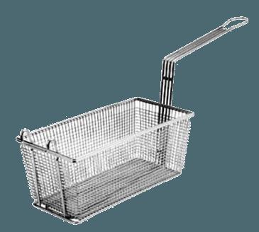 "FMP 225-1055 Standard Fryer Basket 11"" L x 4-1/2"" W x 5"" HFront hook"
