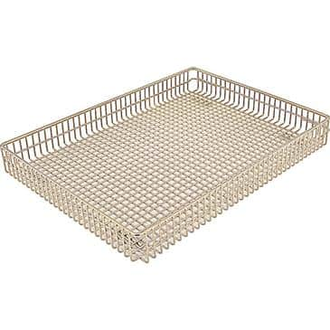 "FMP 227-1309 Wire Form Fryer Basket 16-1/8"" L x 12"" W x 1-7/8"" D"