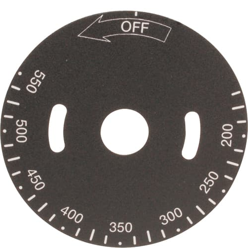 FMP 228-1298 Thermostat Dial Plate