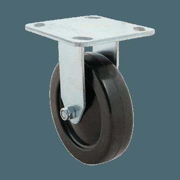 "FMP 234-1030 5"" Rigid Plate Caster"