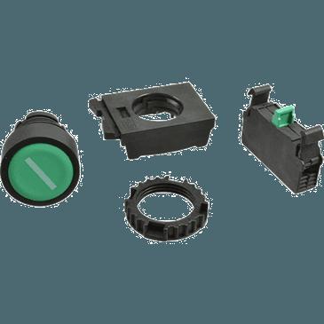FMP 248-1070 Start Button Green