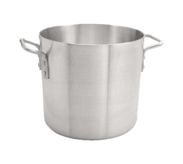 FMP 257-1024 Thermalloy Aluminum Stock Pot by Browne Foodservice 12 qt