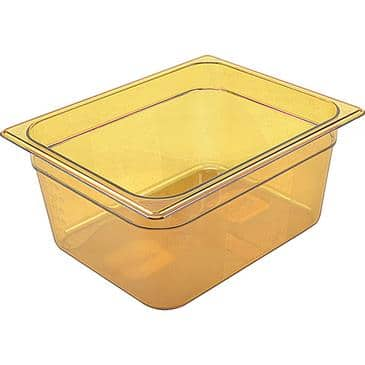 FMP 262-1200 High Heat Food Pan by Rubbermaid Half-size  -40* to 375*F temperature range