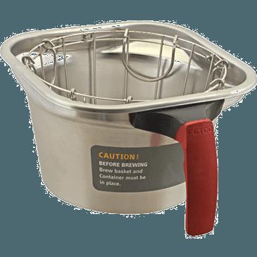"FMP 276-2073 BASKET BREW(9""SQX5""D RED HNDL)"