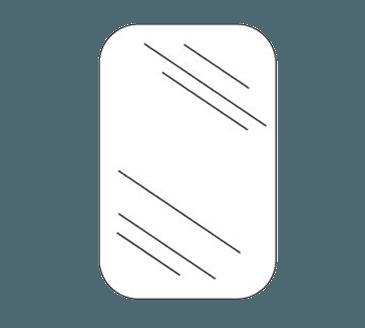 FMP 279-1020 Eliason Double-Action Swing-Door Acrylic Window