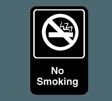 """FMP 280-1164 No Smoking Sign 6"""" x 9"""""""