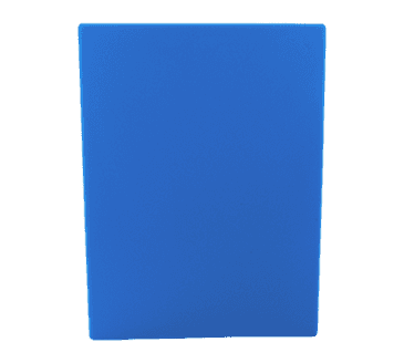"FMP 280-1265 Color-Coded Cutting Board 15"" x 20"" blue"