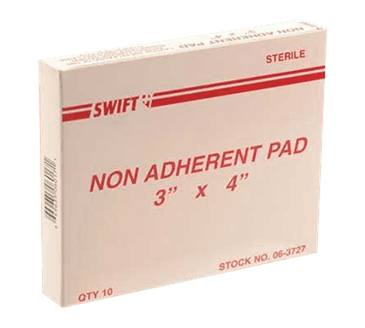 FMP 280-1533 Non-Adherent Pads Box of 10