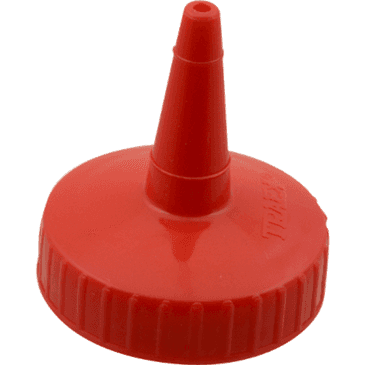 FMP 280-2087 Traex Squeeze Bottle Cap by Vollrath Red