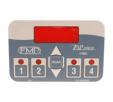 FMP 293-1047 FMP Zap Timer 4-Product Timer Overlay by (fast.)