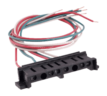 FMP 294-1082 Hinge Pin Receptacle Double receptacle with 6 wires