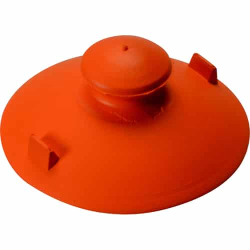 FMP 510-1046 Suction Cup Orange rubber