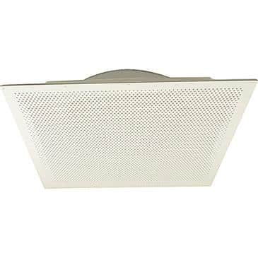"FMP 556-1134 Perforated Hole Pattern Air Diffuser/Return/Exhaust by Eger 24"" x 24""  16"" diameter neck  recessed body"