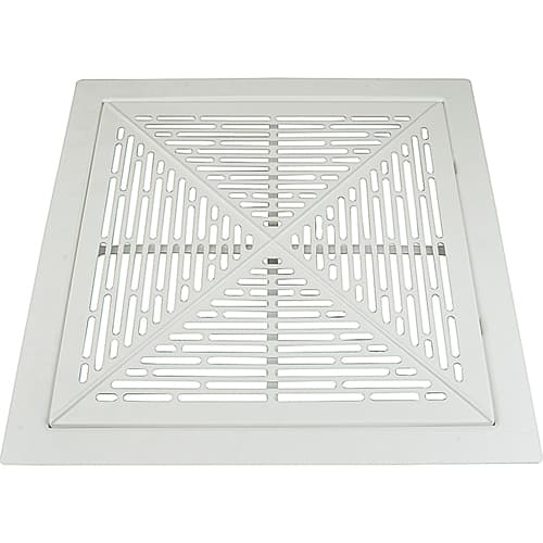 "FMP 556-1187 Filtered Cold Air Return with Slotted Cover without Body by Eger 24"" x 24"" return with 20"" x 20"" open back/pleated filter"