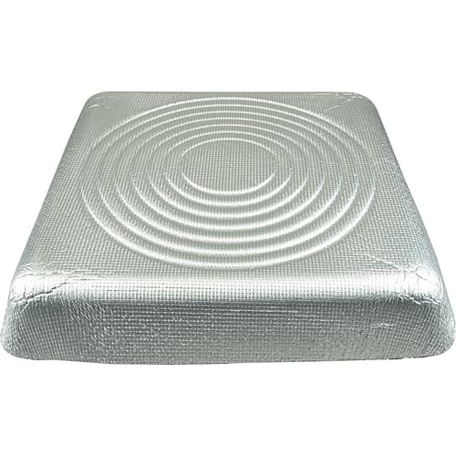 """FMP 556-1222 Insulated Blanket by Eger 24"""" x 24""""  for diffusers and air returns"""