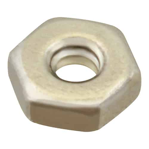 FMP 701-0600 Hex Nut 6-32 thread  pack of 100