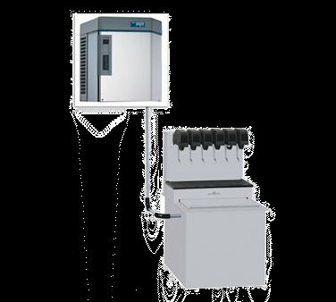 Follett Follett LLC HCF1410RJS Horizon Elite™ Chewblet® ice machine with RIDE®