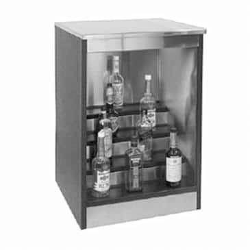 Glastender BLD-36 Back Bar Liquor Display Cabinet