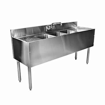 Glastender C-DSB-24 CHOICE Underbar Sink Unit