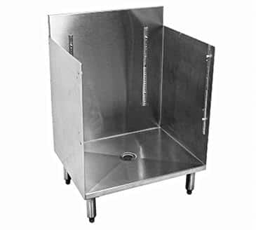 Glastender C-GRB-18 CHOICE Underbar Glass Rack Storage Unit