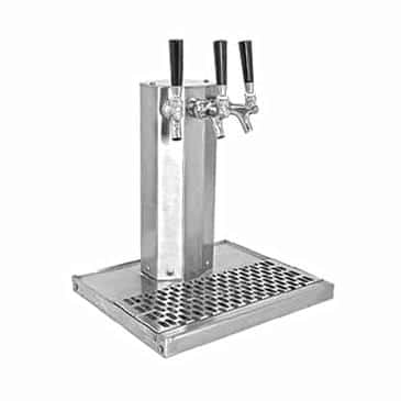 Glastender CT-2-SSR-LD Column Draft Dispensing Tower