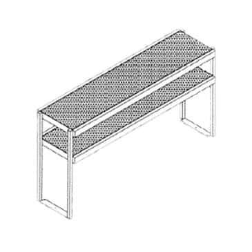 Glastender DOS/SS-66 Double Overshelf