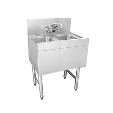 Glastender DSA-48-S Underbar Sink Unit